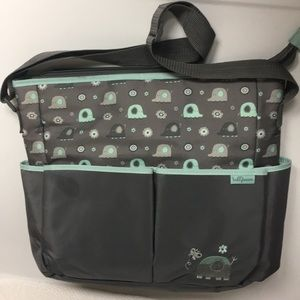 BABYBOOM Polyester Zipper Diaper Bag Changing Pad